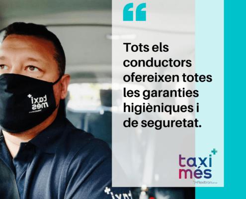 Protocolo Taxis barcelona covid 19